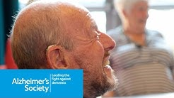 Why attend an Alzheimer's Society Dementia Café? Graham and Sheila's story