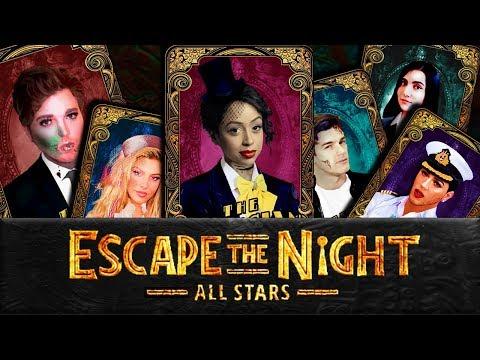 More ALL STAR Tarot Cards   Escape The Night Season 4