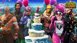 FORTNITE 1ST BIRTHDAY PARTY WITH EVERYONE! Fortnite Short Film
