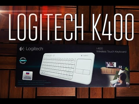 Logitech Wireless Touch Keyboard K400 - Обзор