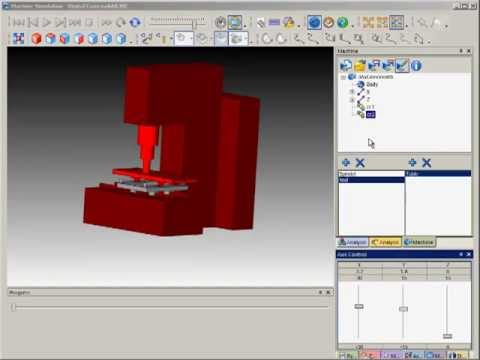 SURFCAM Tutorial - Machine Simulation: Building a Machine