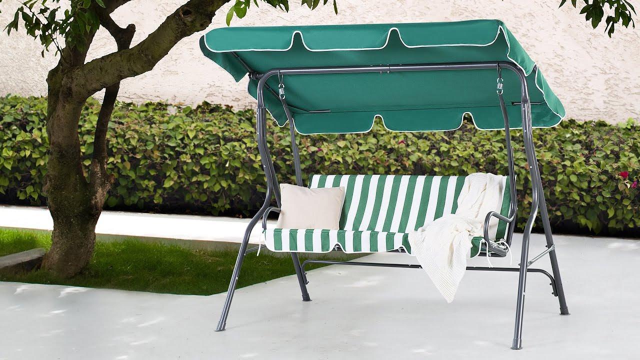 Gartenschaukel garden swing balancelle de jardin for Balancelle de jardin chez castorama