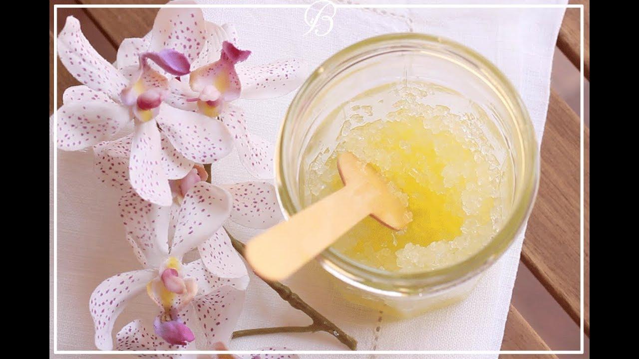 مقشر اللافندر للجسم | #دقيقة_لك | DIY lavender body scrub