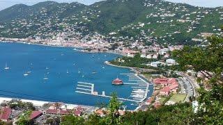 US Virgin Islands St Thomas Overlook Views