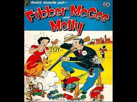 Fibber McGee and Molly  -  11/18/35  (HQ)  Old Time Radio/Comedy