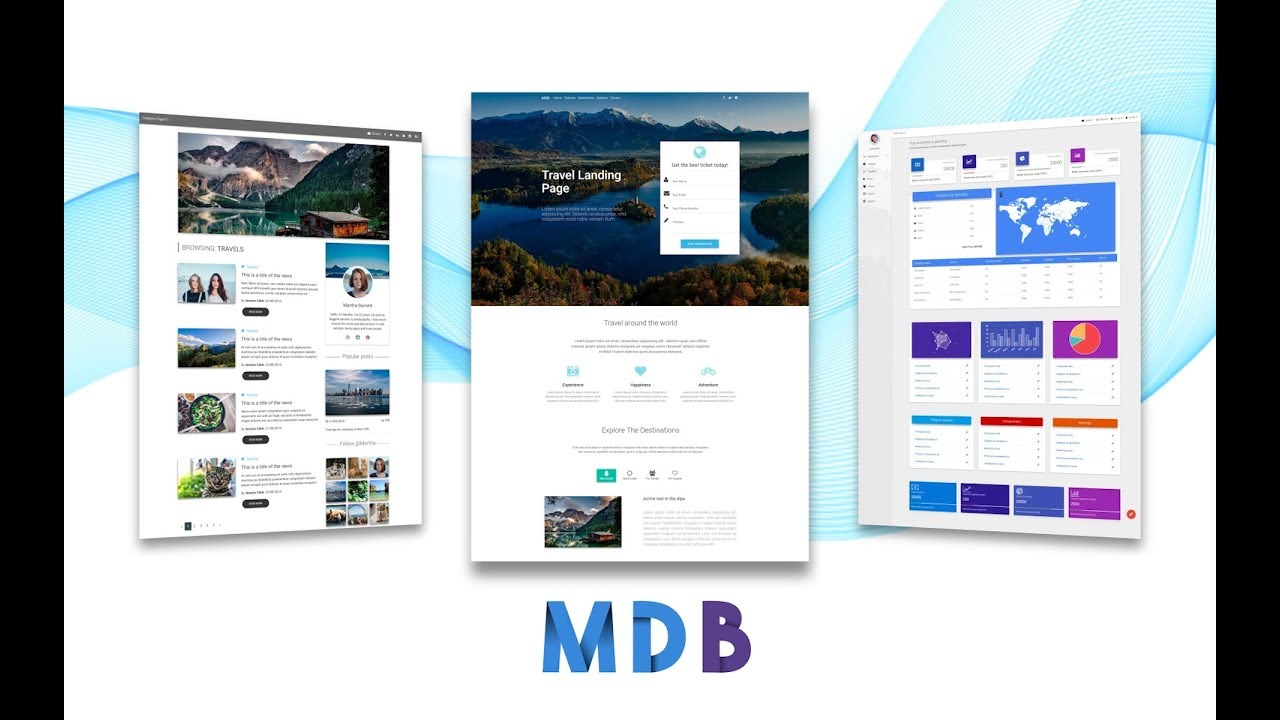 Getting Started with Material Design for Bootstrap