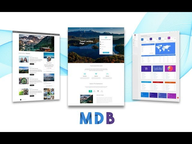 MDB UI Kit: A Free Material Design UI Kit for Bootstrap 4