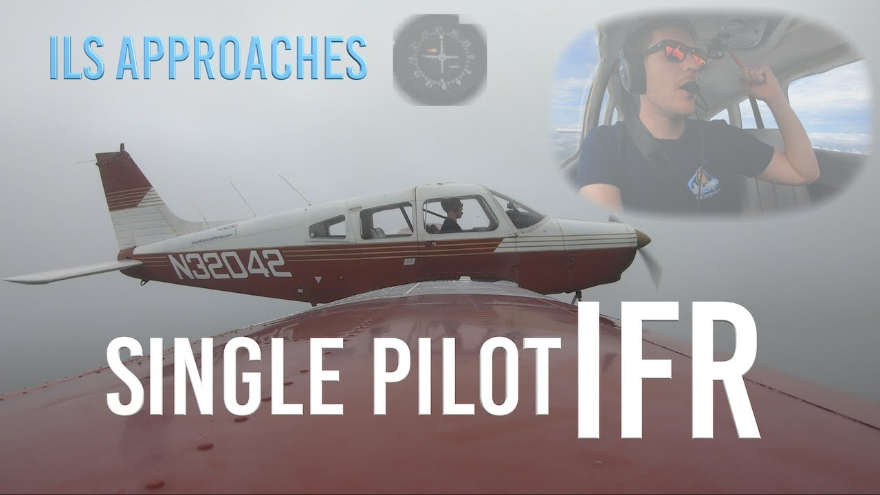 How I Fly ILS Approaches | Single Pilot IFR | Flying Eyes 🕶 Giveaway