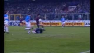 Gol di kazù miura nel derby della lanterna 1994/95