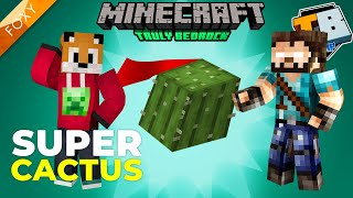 LOSSLESS CACTUS FARM | Truly Bedrock Season 1 [116] | Minecraft Bedrock Edition 1.14 SMP