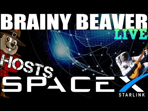 SpaceX Starlink Launch Live | Brainy Beaver Hosts Flat Earth Kryptonite! thumbnail