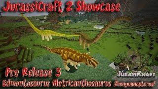 jurassicraft 2 0 showcase pre release 3 dinosaurs flying reptiles velociraptor growth t rex death