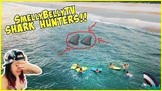IS IT BACK?! SHARK HUNTING IN DARK WATERS!!