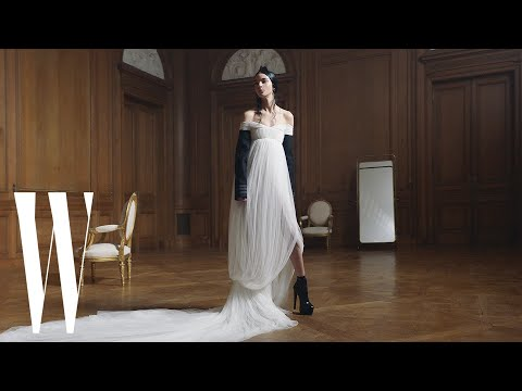 Vera Wang Shows Her Love for Paris and French Fashion with Her Fall/Winter Collection | W Magazine
