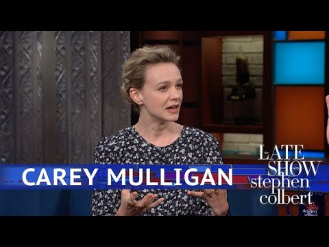 Stephen Colbert vs. Carey Mulligan Turned Bradley Cooper Into Her Personal Ambulance