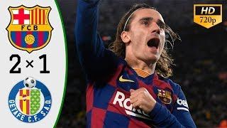 Barcelona Vs Getafe 2-1 - All Gоals & Extеndеd Hіghlіghts 2020