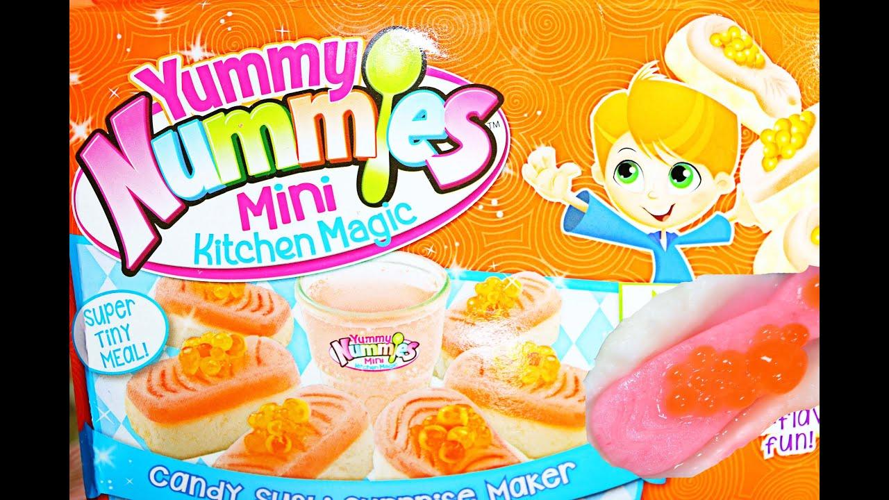 yummy nummies nerdy candy sushi surprise maker magic kitchen yummy