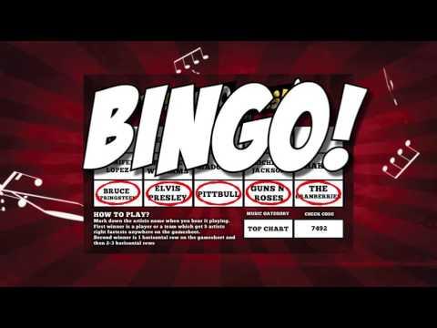Music Bingo - Thisbingorocks.com