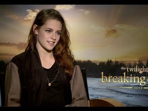 The Twilight Saga: Breaking Dawn Part 2 - Interview with Kristen Stewart