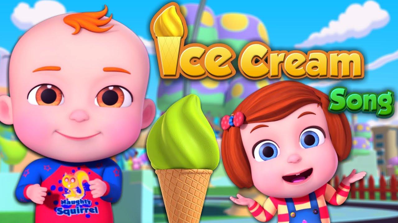 Ice cream Song (Single) |  Nursery Rhymes & Kids Songs | Cartoon Animation For Children