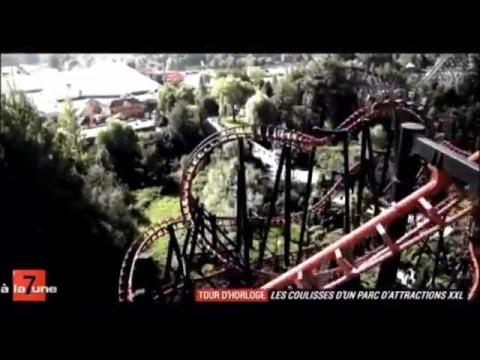 Les coulisses d'un parc d'attractions XXL - Le Tour d'Horloge de Walibi
