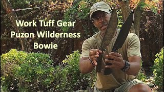 Work Tuff Gear Puzon Wilderness Bowie