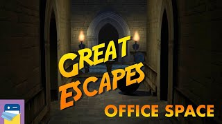 Great Escapes: Office Space Walkthrough & iOS / Android Gameplay (by Glitch Games)