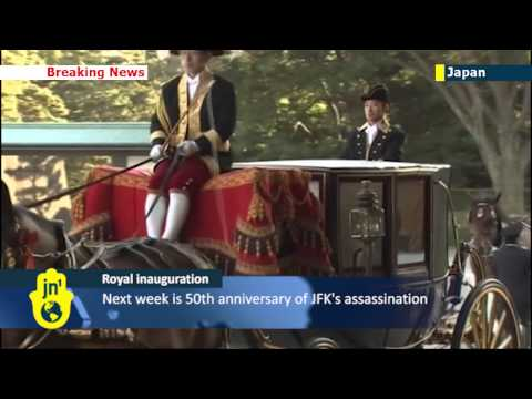 US Ambassador to Japan Caroline Kennedy presents credentials to Japanese Emperor Akihito