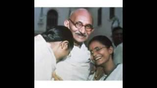 Mohandas Karamchand Gandhi Singing Peace train