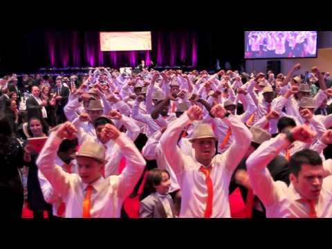 Chai Lifeline Fundraiser Flash Mob with 100 Dancers