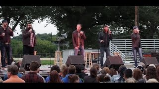 Home Free Concert Morrison, IL 8/19/15 One of funniest concerts. Tim blows out sound system