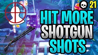 How To Hit More Shotgun Shots In Fortnite! (Fortnite Shotgun Aim Tips - Season 9)