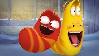 LARVA - A COLD WINTER NIGHT | Cartoon Movie | Cartoons For Children | Larva Cartoon | LARVA Official