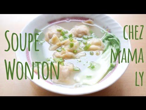 soupe-de-raviolis-chinois-(wonton-/-wantan)---recette-rapide-et-facile