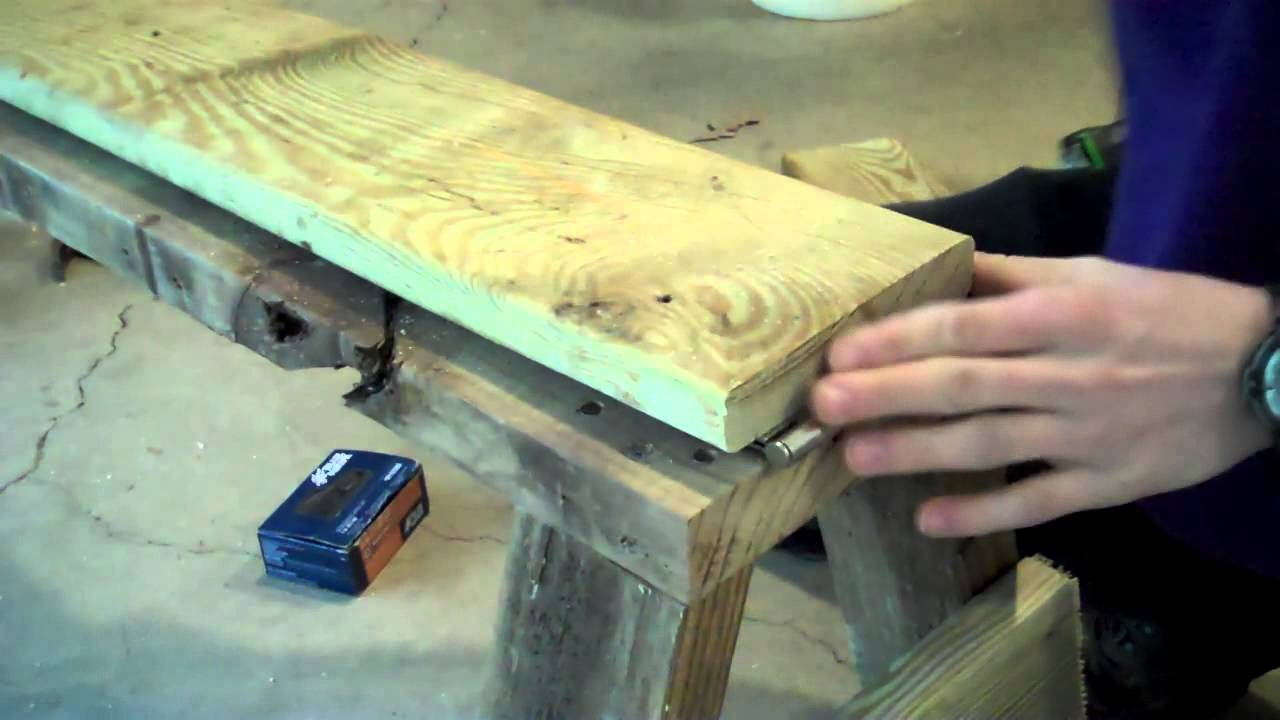how to build a shaving horse
