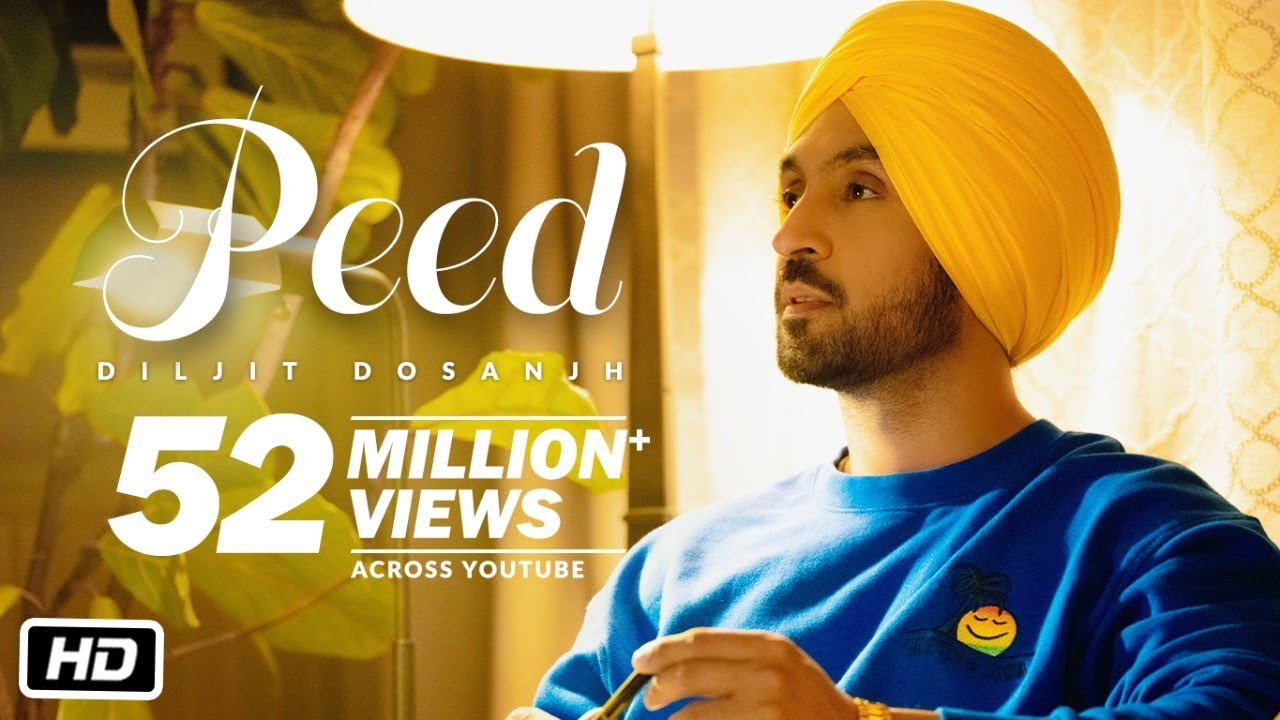 Download PEED: Diljit Dosanjh (Official) Music Video | G.O.A.T.