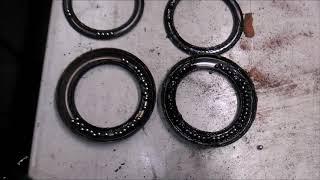 ЗАМЕНА ОПОРНЫХ ПОДШИПНИКОВ /// VW T5 /// 2007