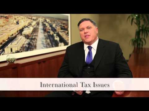 DC Tax Lawyer - International Tax Issues