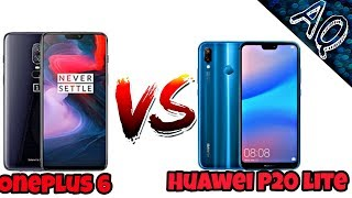 Huawei P20 Lite Vs OnePlus 6