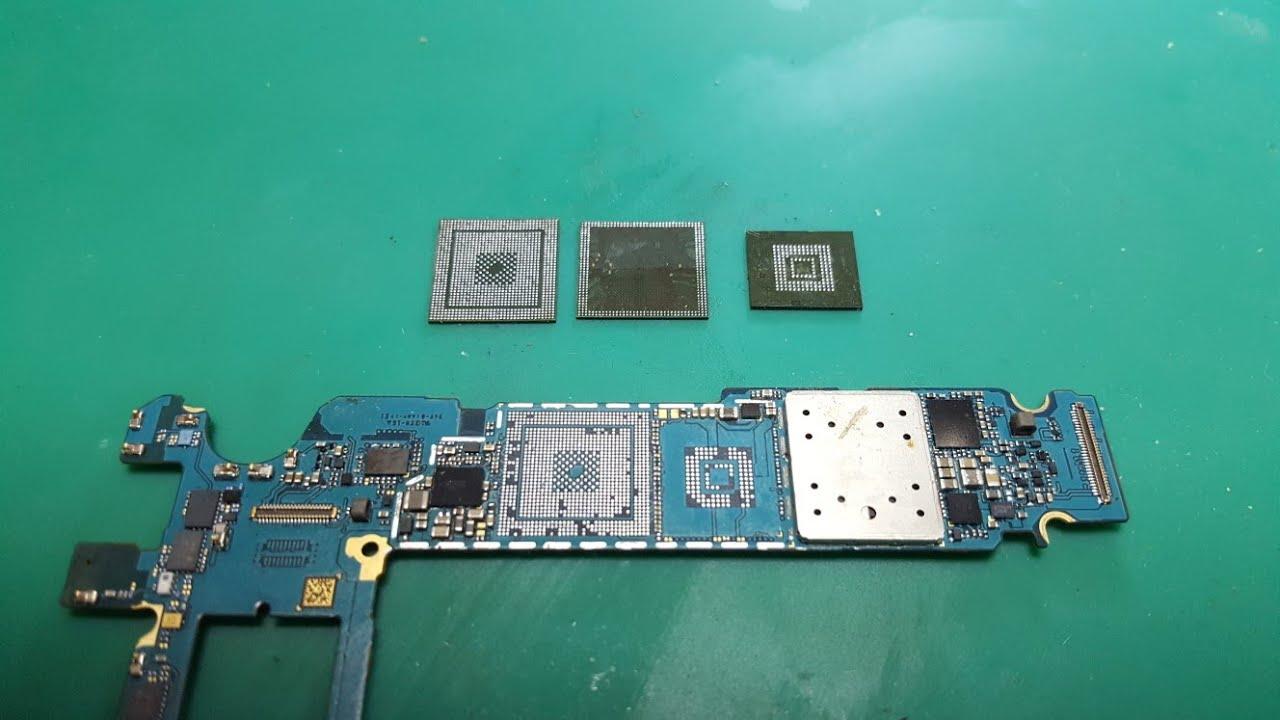 Galaxy S7 edge cpu ram emmc reballing