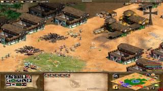 Age of Empires II - 115ª Partida Multijugador En Línea - Lucas, Exe y Fede