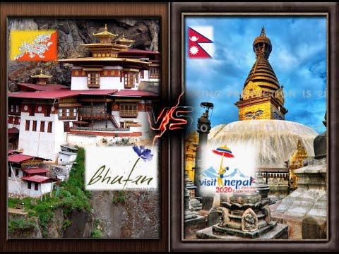 BHUTAN   vs  NEPAL  I   Tourism  Ad