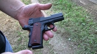 Officer Model 1911: A SubCompact with Balls