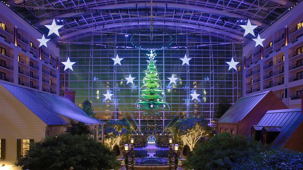 National Christmas Tree 2019.Gaylord National S Christmas On The Potomac 2019