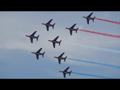 Patrouille De France .. California Capital Airshow 2017 (4K)