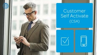 Customer Self Activate in OSM AT&T BusinessDirect®