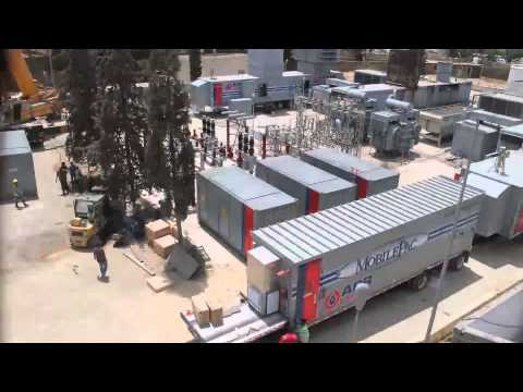 Fast-Track Installation of 50MW Mobile Gas Turbine Power Plant