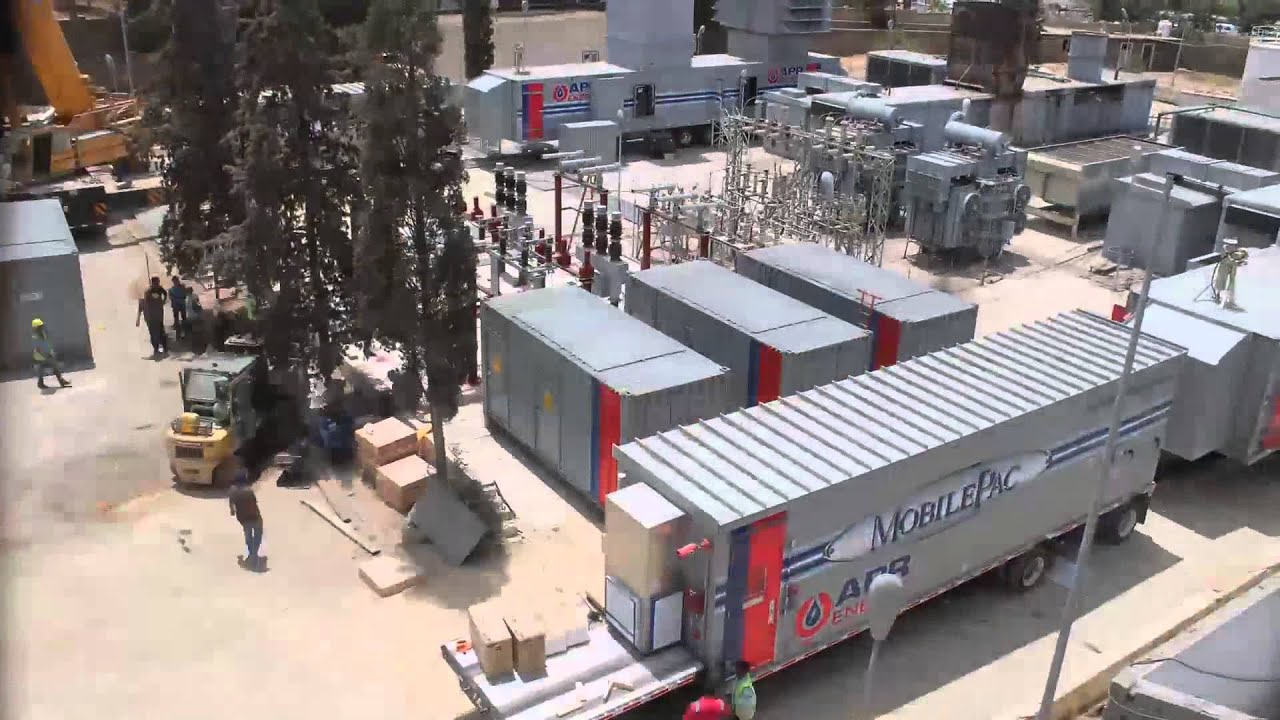 Fast Track Installation of 50MW Mobile Gas Turbine Power Plant