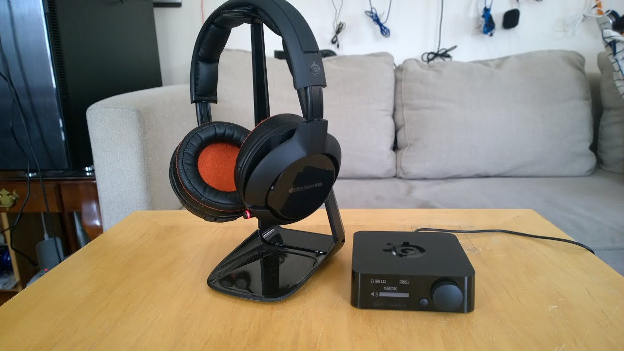 steelseries h wireless headset review the best youtube. Black Bedroom Furniture Sets. Home Design Ideas