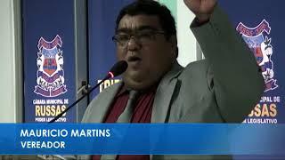 Maurício Martins Pronunciamento 13 03 2018